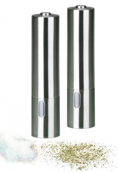 Salz- und Pfeffermühlen Set (elektrisch) | Keramikmahlwerk