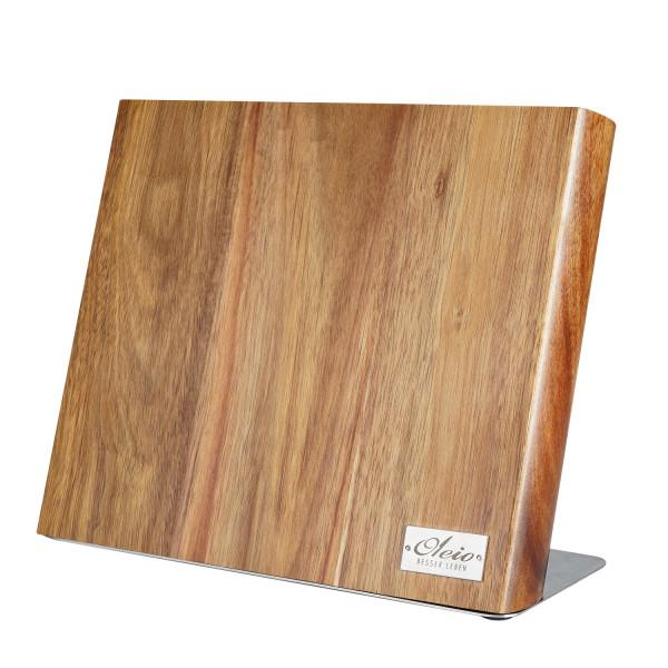 OLEIO magnetisches Messerbrett aus Akazienholz, ohne Messer